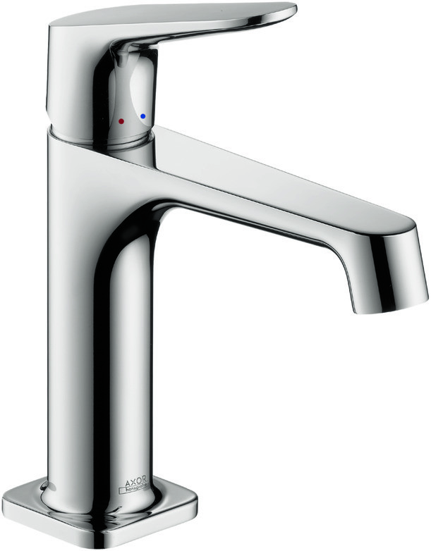 Hansgrohe Axor Citterio M Single lever basin mixer 100 with pop-up ...