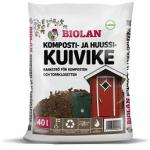 Biolan Compost and Dry Toilet Bulking Material, 5 sack (200L)