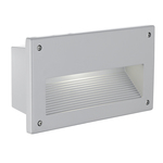 Eglo 88575 Recessed Outdoor Light Zimba Silver E14 60W IP44
