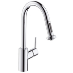 Hansgrohe Talis S2 Single lever kitchen mixer with pull-out spray 14877