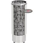 Harvia Cilindro PC90VHEE 9kW Electric Sauna Heater White with separate control panel