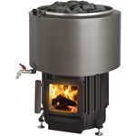 Kota Luosto VS Wood burning stove with water storage 8-20m3