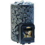 Stoveman Wood Burning 20R round, with glass door (12-20m3)