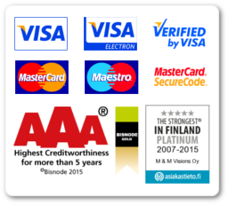 Highest AAA Creditworthiness for NordicHomeWare.com